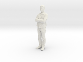 Printle C Homme 051 - 1/32 - wob in White Natural Versatile Plastic