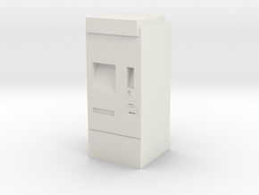 Modern ticket machine (DB and others) in White Natural Versatile Plastic: 1:87 - HO