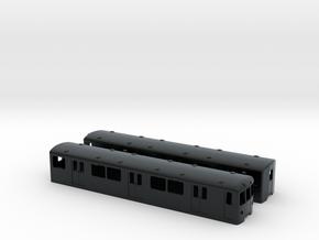 Berlin Baureihe D N-scale [2x body] in Black Hi-Def Acrylate