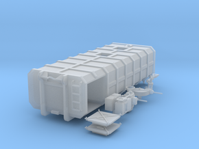 H0 1:87 Abrollcontainer für Gülle in Smooth Fine Detail Plastic