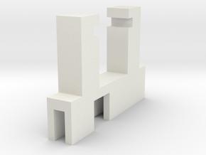 Halter Maerklin LS E-Modell LX-U in White Strong & Flexible