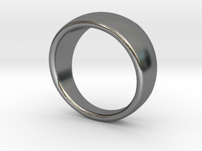 Spherical Ring in Polished Silver: 4 / 46.5