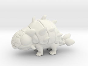 Breedingkit Ankylosaurus in White Natural Versatile Plastic