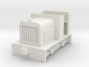 HOf diesel loco 2 in White Natural Versatile Plastic