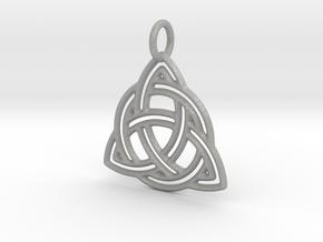 Celtic Knot Pendant in Aluminum