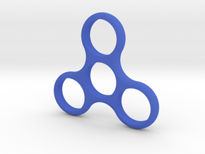 Triple Spinner in Blue Processed Versatile Plastic