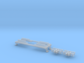N scale CNJ 1000 Frame Upgrade in Frosted Extreme Detail