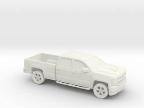 1/87 2016/17 Chevrolet Silverado Long Bed in White Strong & Flexible
