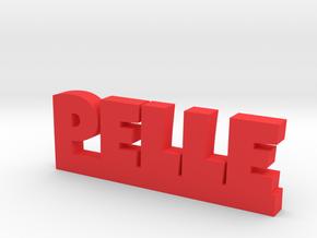 PELLE Lucky in Red Processed Versatile Plastic