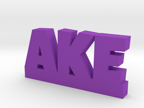 AKE Lucky in Purple Processed Versatile Plastic
