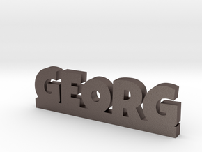 GEORG Lucky in Polished Bronzed Silver Steel