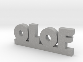 OLOF Lucky in Aluminum