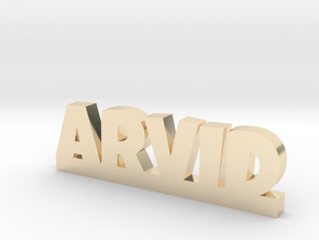 ARVID Lucky in 14k Gold Plated Brass