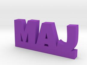 MAJ Lucky in Purple Processed Versatile Plastic