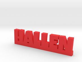 HALLEN Lucky in Red Strong & Flexible Polished