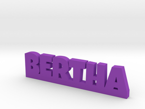 BERTHA Lucky in Purple Strong & Flexible Polished