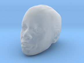 Object 01: Head in Smooth Fine Detail Plastic
