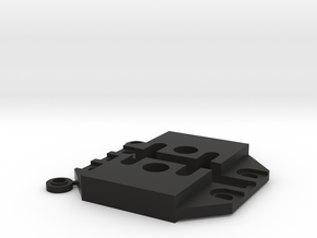 458-459 Motor Mount Block in Black Strong & Flexible