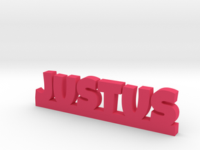 JUSTUS Lucky in Pink Processed Versatile Plastic