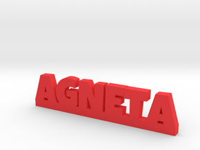 AGNETA Lucky in Red Strong & Flexible Polished