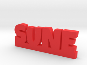 SUNE Lucky in Red Processed Versatile Plastic