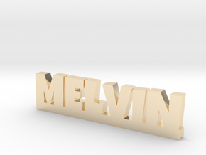 MELVIN Lucky in 14k Gold Plated Brass