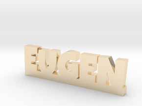 EUGEN Lucky in 14k Gold Plated Brass