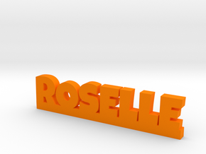 ROSELLE Lucky in Orange Processed Versatile Plastic