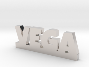 VEGA Lucky in Rhodium Plated Brass
