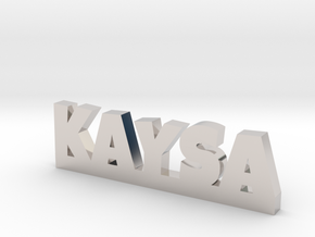 KAYSA Lucky in Rhodium Plated Brass