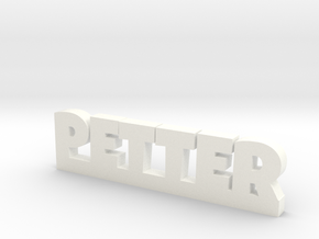 PETTER Lucky in White Strong & Flexible Polished