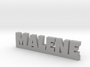MALENE Lucky in Aluminum