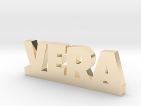 VERA Lucky in 14k Gold Plated Brass