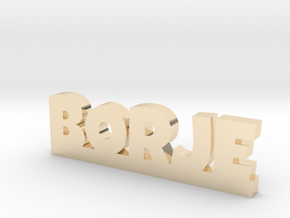 BORJE Lucky in 14k Gold Plated Brass
