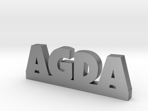 AGDA Lucky in Natural Silver