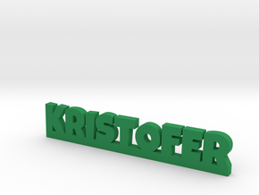 KRISTOFER Lucky in Green Processed Versatile Plastic