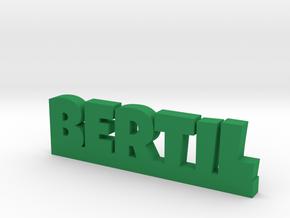 BERTIL Lucky in Green Processed Versatile Plastic