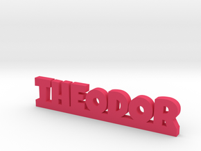 THEODOR Lucky in Pink Processed Versatile Plastic