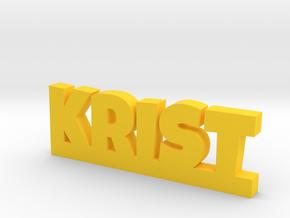 KRIST Lucky in Yellow Processed Versatile Plastic