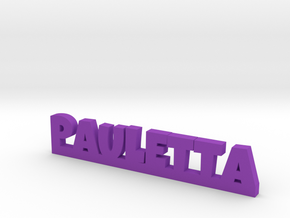 PAULETTA Lucky in Purple Strong & Flexible Polished