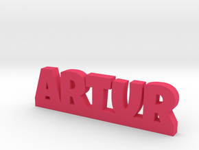 ARTUR Lucky in Pink Processed Versatile Plastic