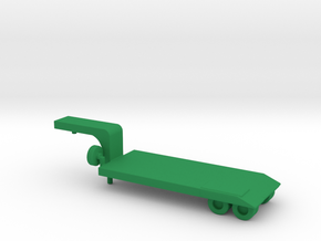 1/200 Scale M173 Semitrailer Low Bed in Green Strong & Flexible Polished