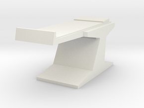Sickbay Exam Table (Star Trek Classic) in White Natural Versatile Plastic: 1:18