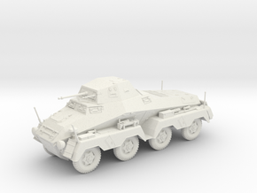 VBA Sd.kfz 231 8 rad 1:48 28mm wargames in White Natural Versatile Plastic