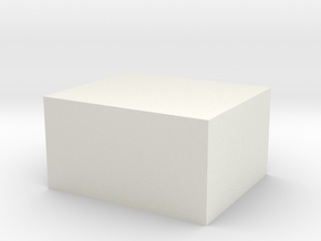 Maximum Sized Nylon Block in White Strong & Flexible