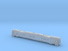ETR610  Carriage 5 Bodyshell Z, N and TT in Smooth Fine Detail Plastic: 1:160 - N