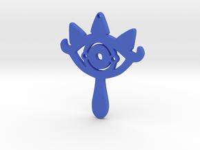 Sheikah Slate Earring in Blue Processed Versatile Plastic: Medium