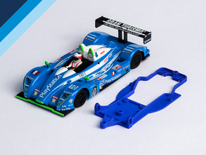 1/32 Avant Slot Pescarolo Chassis for Slot.it pod in Blue Strong & Flexible Polished