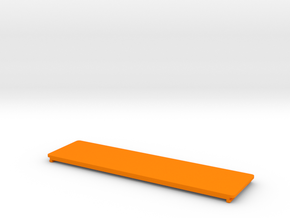 be quiet! Dark Base 900 Drive Slot Cover in Orange Strong & Flexible Polished: Small