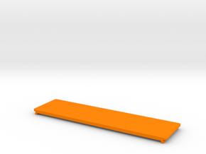 be quiet! Dark Base 900 Drive Slot Cover in Orange Processed Versatile Plastic: Small